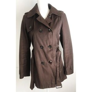 Tommy Hilfiger • Brown Trench Coat/Raincoat